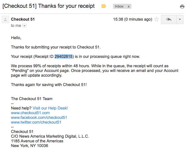 What\'s a Receipt ID? – Checkout 51 Help Desk